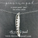 Sweet Peas in a Pod Necklace