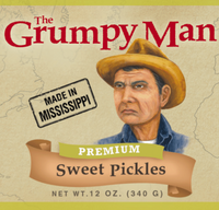 Grumpy Man Premium Sweet Pickles