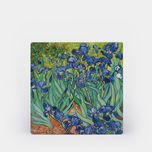 Van Gogh Irises Ceramic Coaster Set of 4
