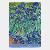 Irises by Vincent Van Gogh Garden Flag