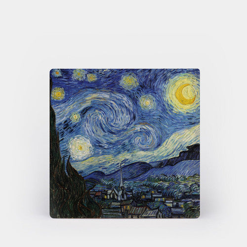 Van Gogh Starry Night Ceramic Coaster Set of 4