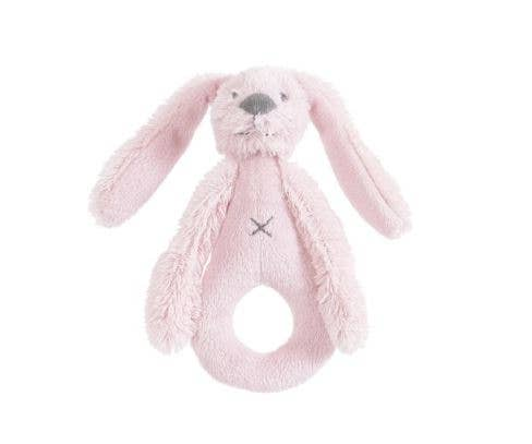 Pink Rabbit Richie Rattle by Happy Horse
