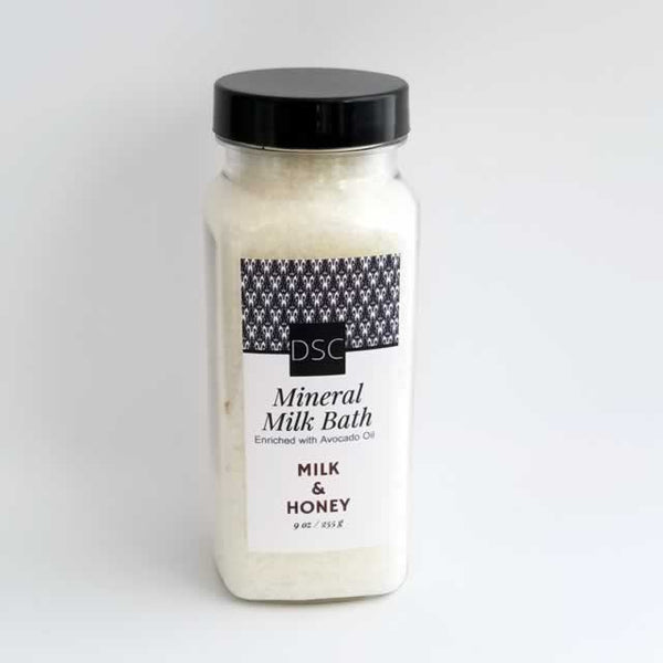 Milk and Honey Milk Mineral Bath Salt | Dallas Soap Company