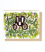 Thimblepress® Happily Ever After Greeting Card