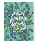 A Sweet Friendship Greeting Card | Thimblepress