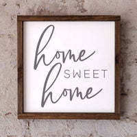 Home Sweet Home Dakota Style Wooden Sign