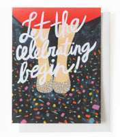 Thimblepress® Let The Celebrating Begin Greeting Card