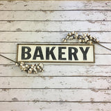 Bakery Sign - Hand Painted Wood