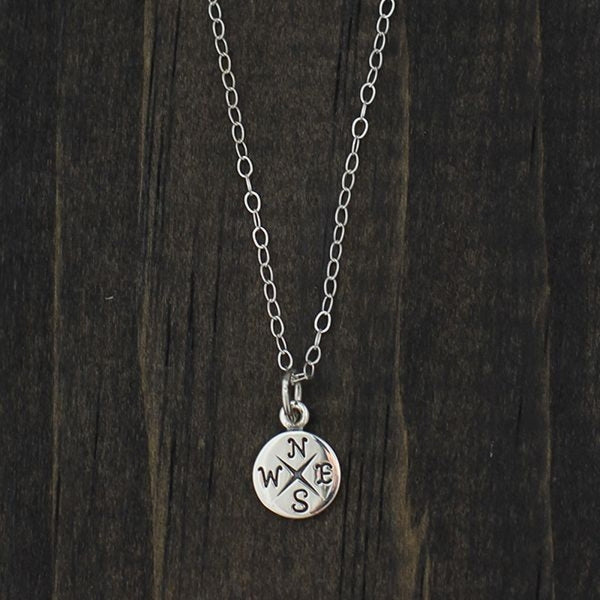 Go Confidently Sterling Silver Necklace