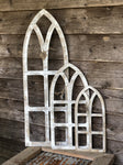Whitewashed Magnolia Wooden Arches