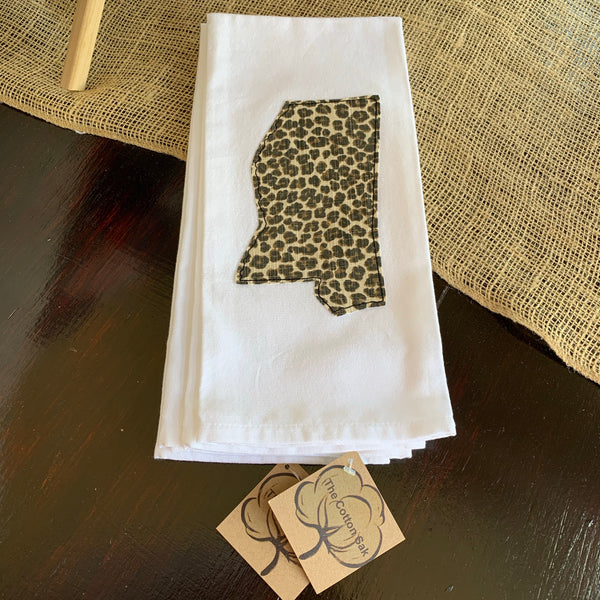 Mississippi Applique Kitchen Towels