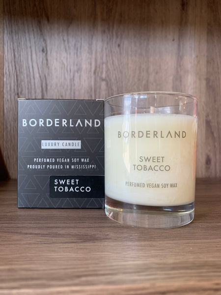 Sweet Tobacco // 8oz Soy Candle | Borderland Candles