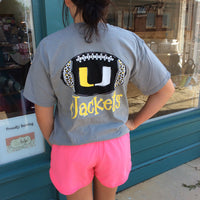 Union Jackets Football Short Sleeve T-Shirt