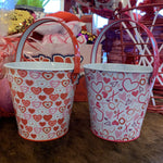 Valentine's Day Small Tin Pail