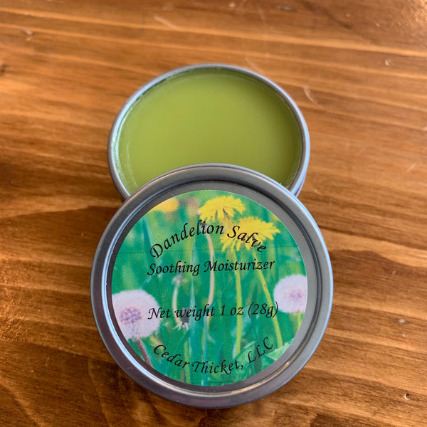 Dandelion Salve | Cedar Thicket