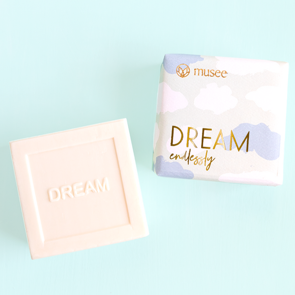 Dream Endlessly Chamomile and Hyacinth Bar Soap - Musee Bath