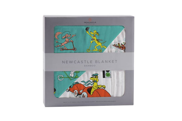 Go, Dog. Go! Big Reversible Kids Blanket
