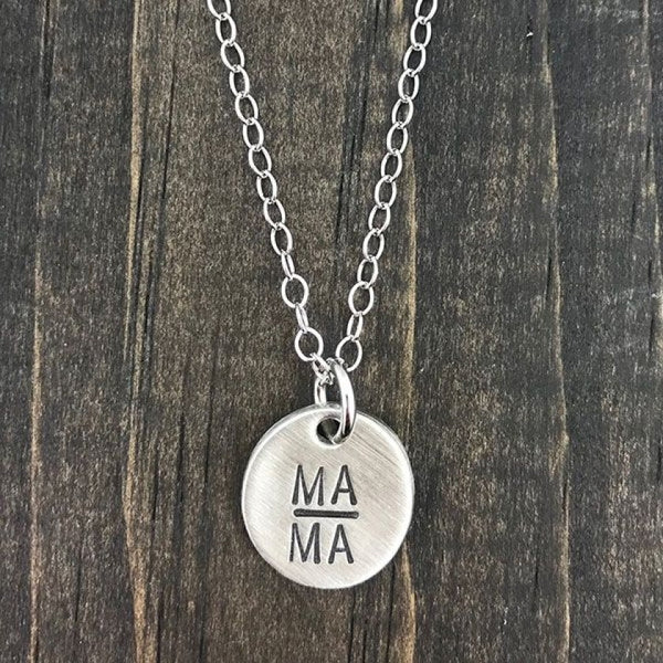 MAMA Mother or Grandmother Necklace | The Vintage Pearl