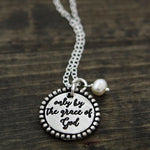 Only By the Grace of God Necklace | The Vintage Pearl