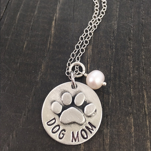 Proud Dog Mom Necklace