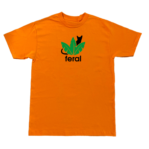 Jungle Cat T-Shirt - Orange