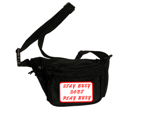 Auto Shop Waist Bag - Black