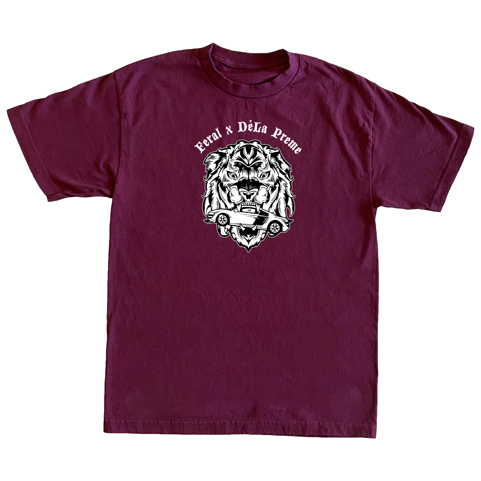 Untamed Speed T-Shirt - Burgundy