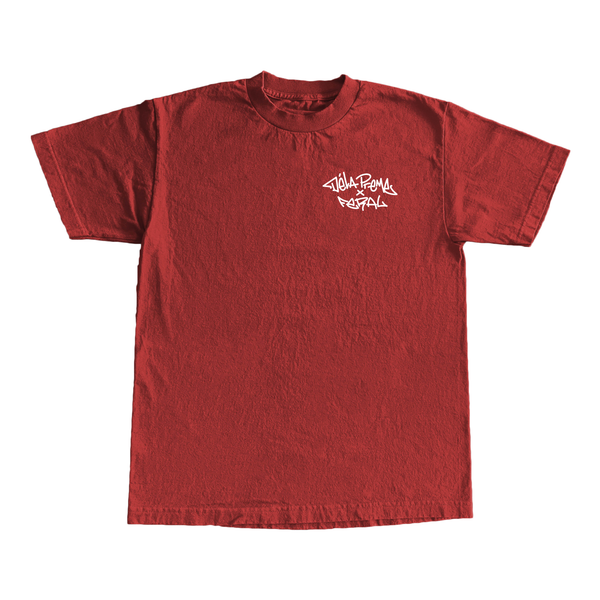 Stay Busy Trucker T-Shirt - Red