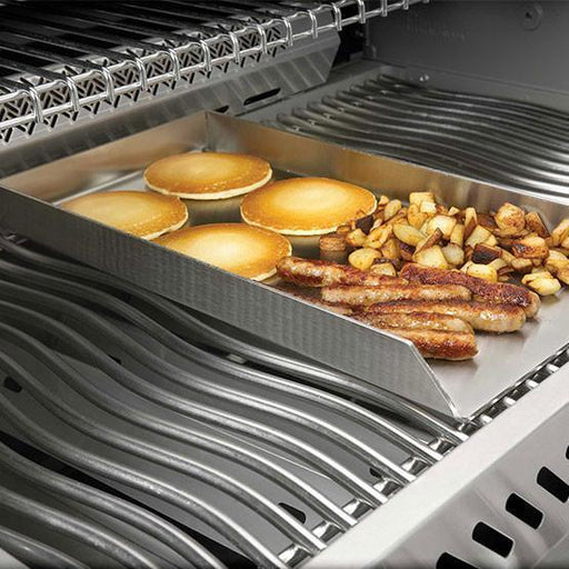 "Napoleon 56018 PRO Stainless Steel Griddle-Fits Any Grill 18"" Deep  450/600/500/605/730/750"