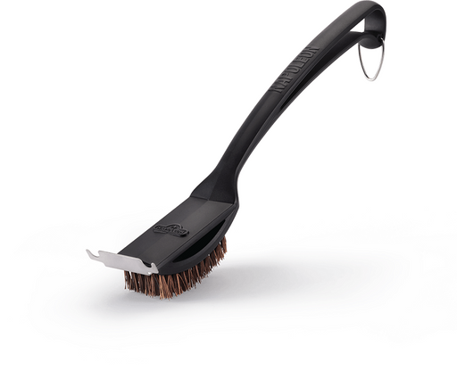 Napoleon 62053 Natural Fiber Grill Brush With Grid Scraper