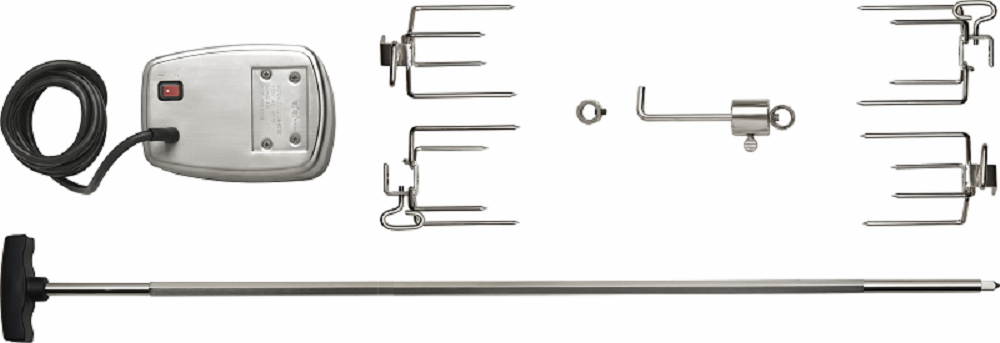 Napoleon 69231 Commercial Grade Rotisserie Kit For Large Grills