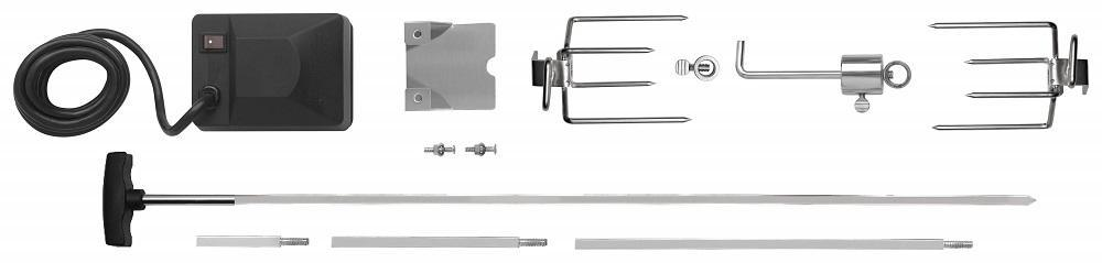 Napoleon 69411 Heavy Duty Rotisserie Kit 308/325/410/495-304 Stainless Steel