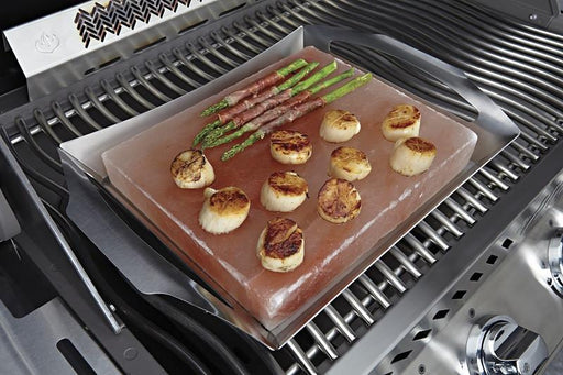 Napoleon 70025 Himalayan Salt Block With Pro Grill Topper