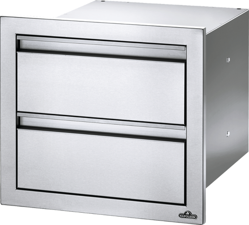 "Napoleon Built-In 18"" X 16"" Double Drawer BI-1816-2DR"