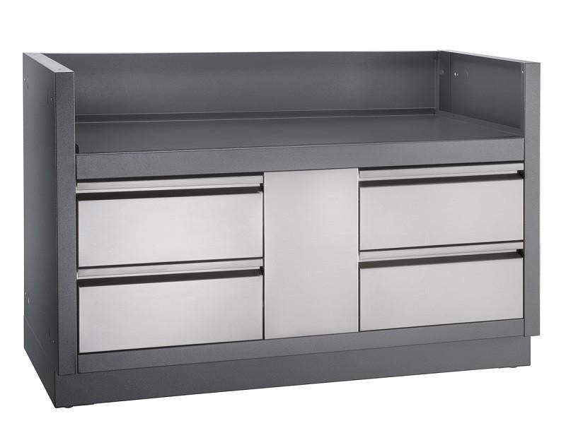 Napoleon Oasis Under Grill Cabinet For Built-In Prestige Pro 825 -  1