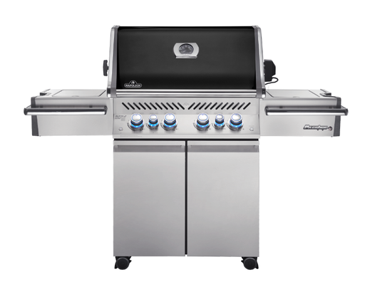Napoleon Prestige PRO 500 Gas Grill with Infrared Rear & Side Burners (BLACK) PRO500RSIBNK-2