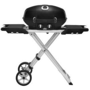 Napoleon TravelQ PRO 285X (BLACK) Portable Propane Gas Grill with Scissor Cart PRO285X-BK