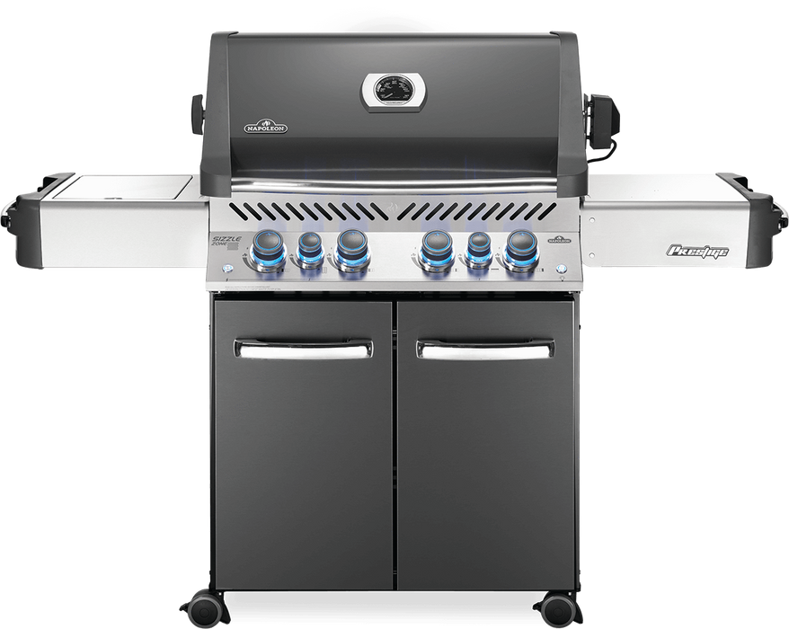 Napoleon Prestige 500 Gas Grill with Infrared Side & Rear Burners P500RSIB-3