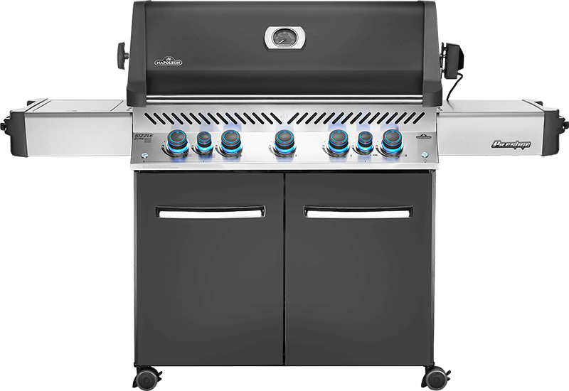 Napoleon Prestige 665 Gas Grill with Infrared Rear & Side Burners P665RSIB