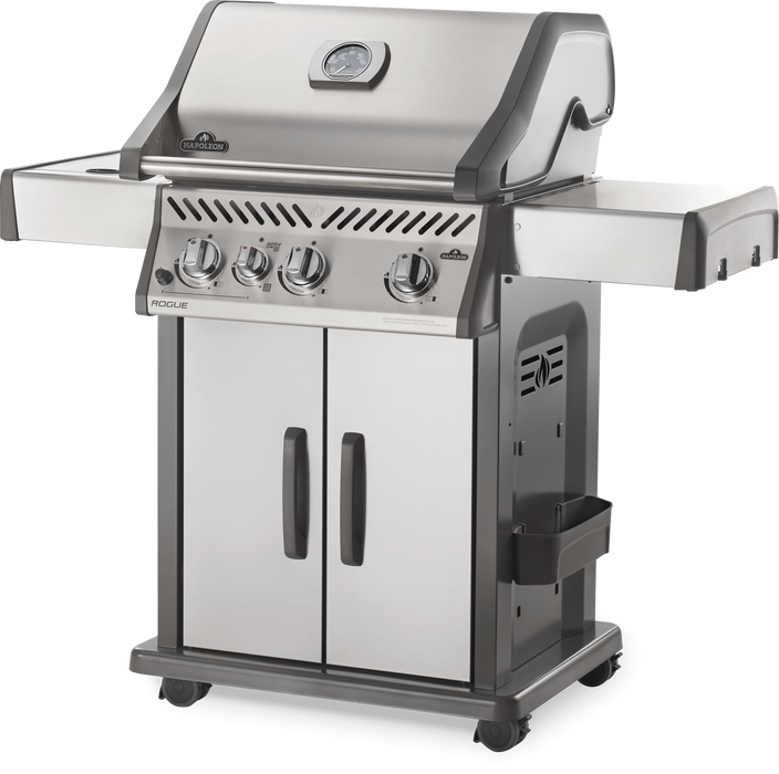 Napoleon Rogue 425 Gas Grill with Infrared Side Burner R425SIB