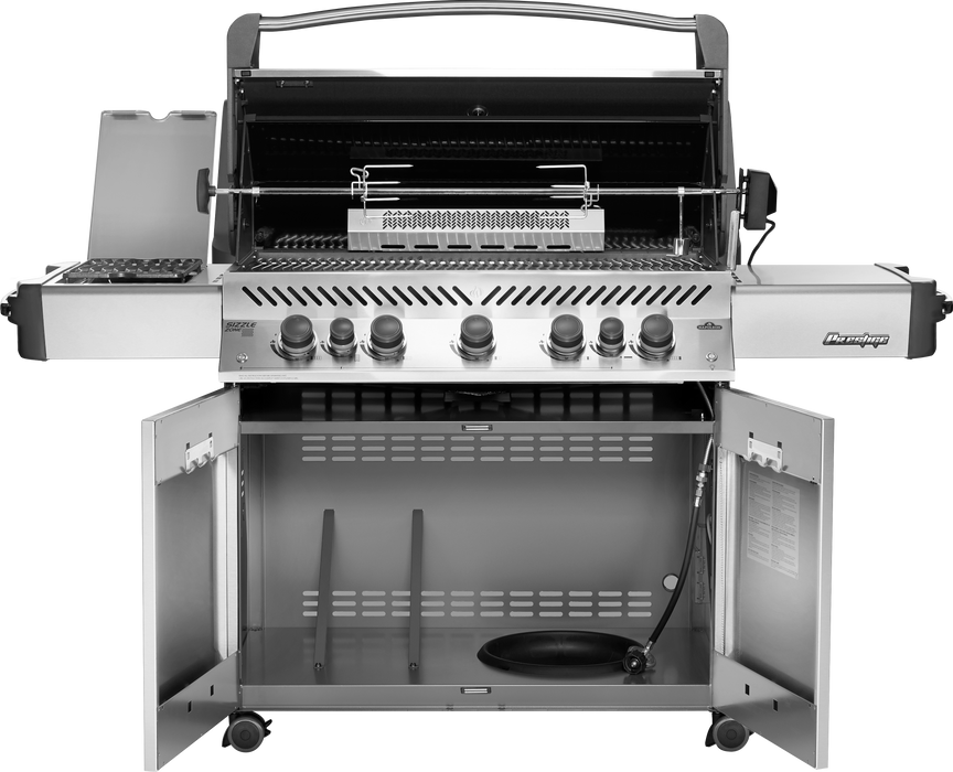 Napoleon Prestige 665 Gas Grill with Infrared Rear & Side Burners P665RSIB-AMB (Ambiance Special Edition)