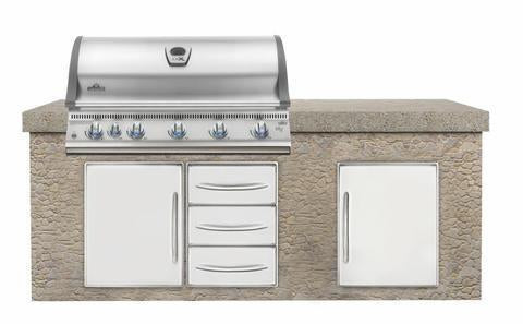 Napoleon LEX 730 Built-In Grill with Infrared Bottom And Rear Burners BILEX730RBI
