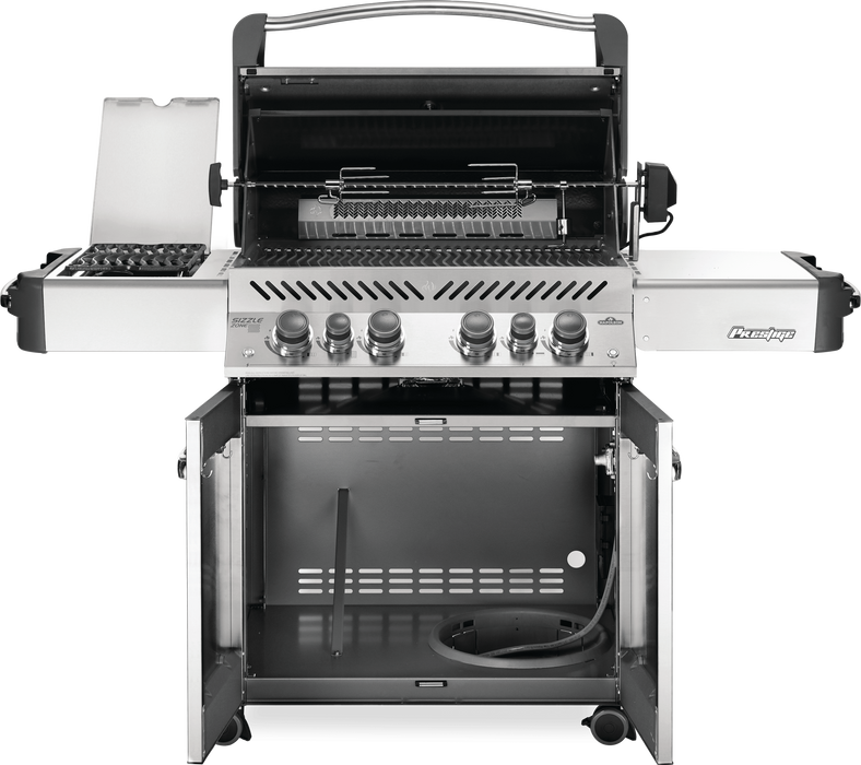 Napoleon Prestige 500 BBQ with Infrared Side & Rear Burners P500RSIB-3-AMB (Ambiance Special Edition)