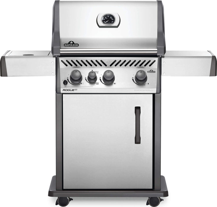 Napoleon Rogue XT 425 SIB with Infrared Side Burner RXT425SIB Propane / Stainless Steel RXT425SIBPSS-1