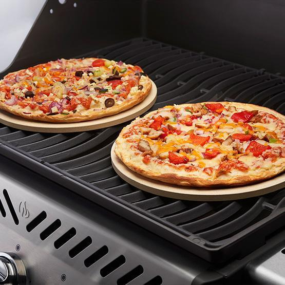 Napoleon 70000 10 Inch Personal Sized Pizza/Baking Stone Set