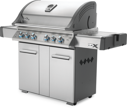 Napoleon LEX 605 Gas Grill with Side Burner, Infrared Bottom & Rear Burners LEX605RSBI