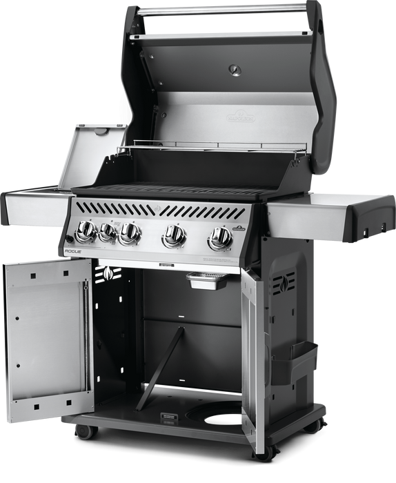 Napoleon Rogue 525 Gas Grill with Infrared Side Burner R525SIB