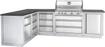 Napoleon LEX 605 Built-In Grill with Infrared Bottom and Rear Burners BILEX605RBI