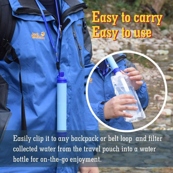 Personal Water Filter Straw