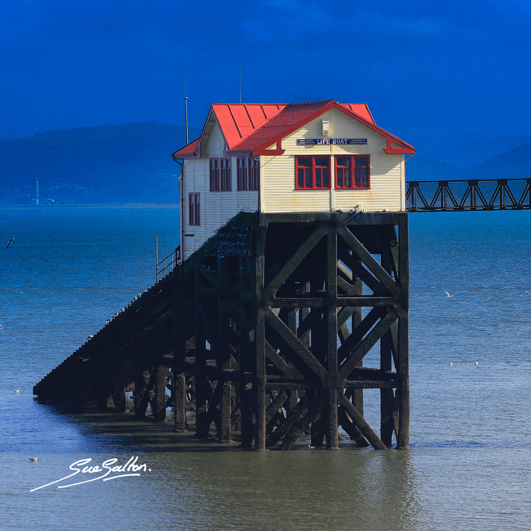 THE GOWER MUMBLES PIER - Sue Salton Photo Art